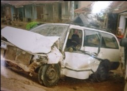 Vehicle after accident